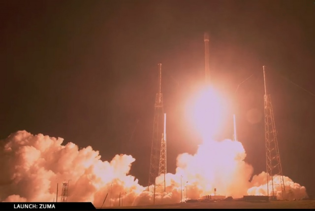 SpaceX successfully launches secret US government spacecraft in first mission of 2018