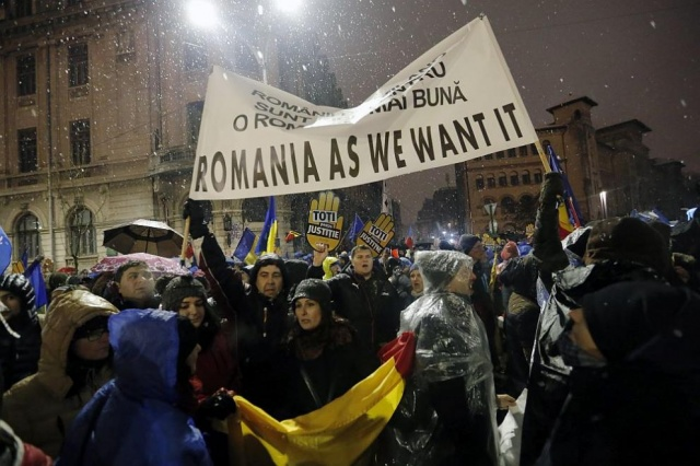 Bulgaria: Thousands of Romanians Protested in Bucharest