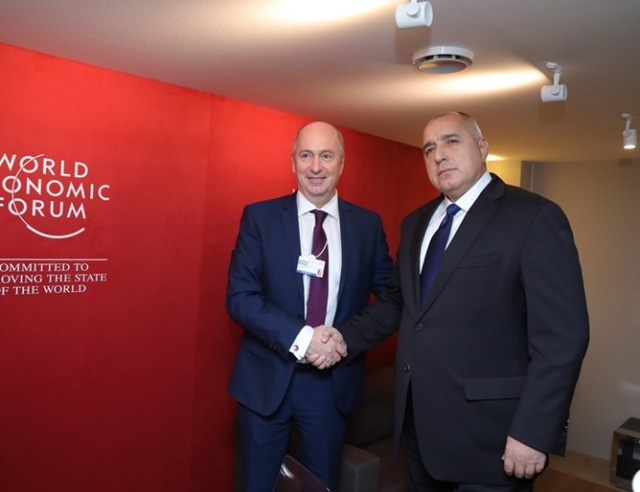 Bulgaria: Prime Minister Boyko Borisov Met the Head of the Royal Dutch Shell International Oil and Gas Department