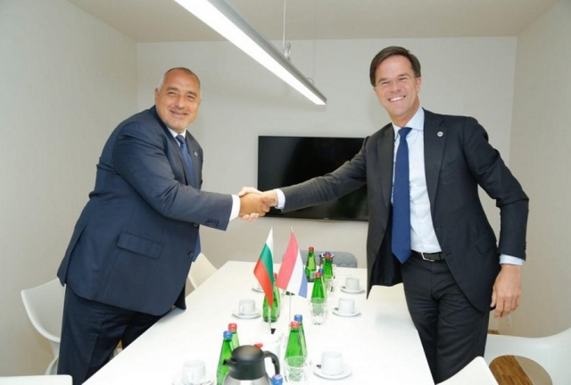 "Bulgaria: Borisov is Waiting for the Final ""Yes"" for Schengen - from Mark Rutte, Arriving in Sofia Tomorrow"