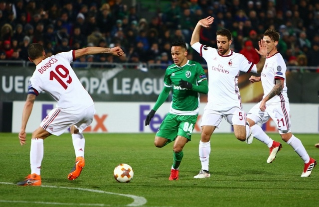 Bulgaria: Milan Won 3:0 Against Ludogorets in Razgrad