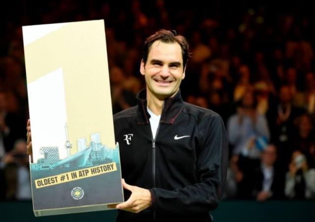 Bulgaria: Federer is Officially the Oldest Number One in Tennis
