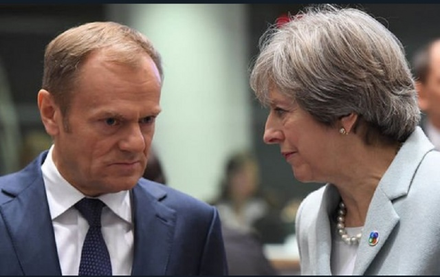 Bulgaria: Theresa May Welcomes to London the EC President Donald Tusk