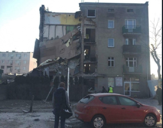 Bulgaria: At Least 4 People Died and 24 got Injured after a Block of Flats Collapsed in Poland
