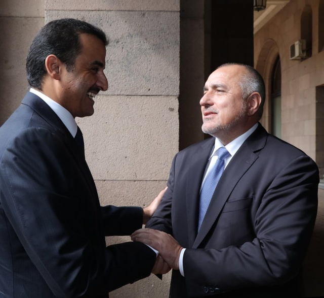 Bulgaria: Boyko Borissov and the Emir of Qatar: We Need to Work for More Investments