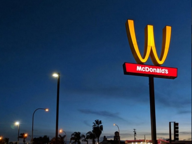 Bulgaria: International Women's Day: McDonald's Flips Iconic 'M' Logo (Video)