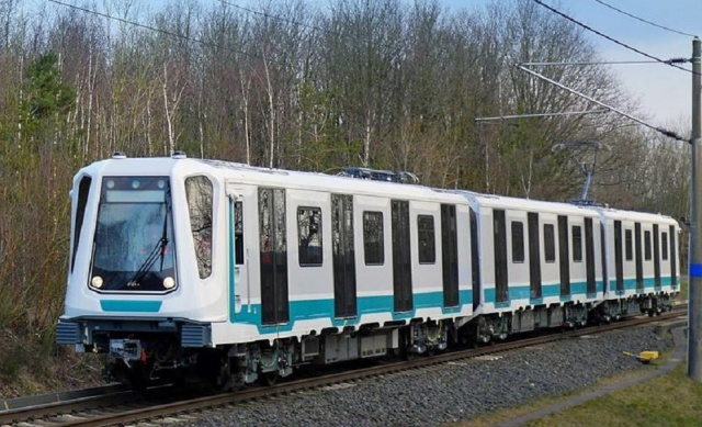 Bulgaria: The First of the New Trains for the Sofia Metro is Ready (Photos)