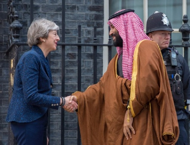 Saudi crown prince moves closer to United Kingdom  fighter jet deal
