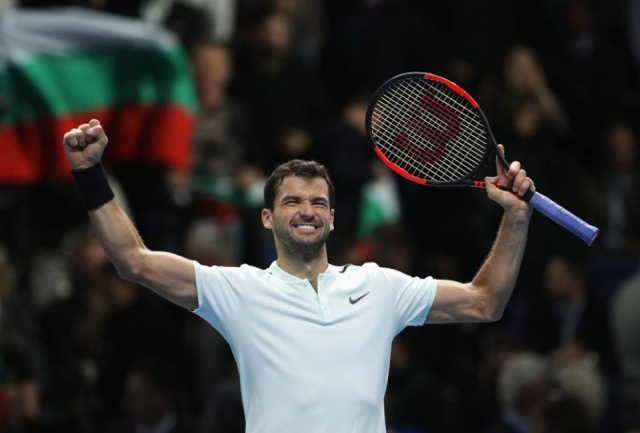 Bulgaria: Grigor Dimitrov Remains Fourth in the World Tennis Rankings