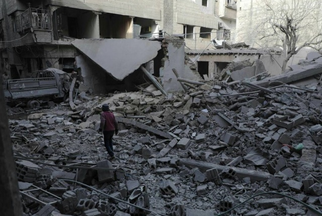 Bulgaria: Fifteen Children and Two Women were Killed in an Air Strike in Eastern Ghouta