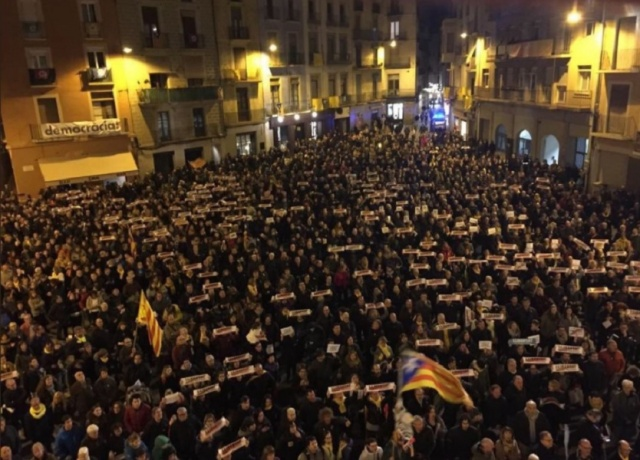 Bulgaria: More than 20 People were Injured in Protests in Catalonia