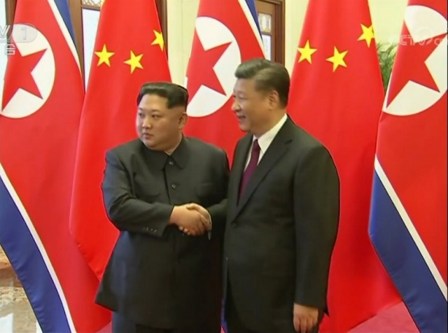 Bulgaria: Kim Jong-un on a Visit to Beijing, met with the Chinese President