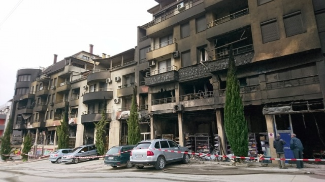 Bulgaria: 40 Families were Left without a Roof after the Big Fire in Sandanski