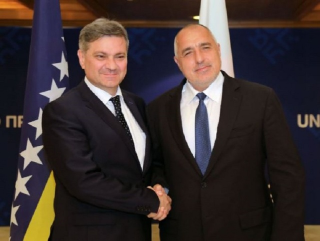 Bulgaria: PM Boyko Borisov Welcomed Denis Zvizdic in Sofia