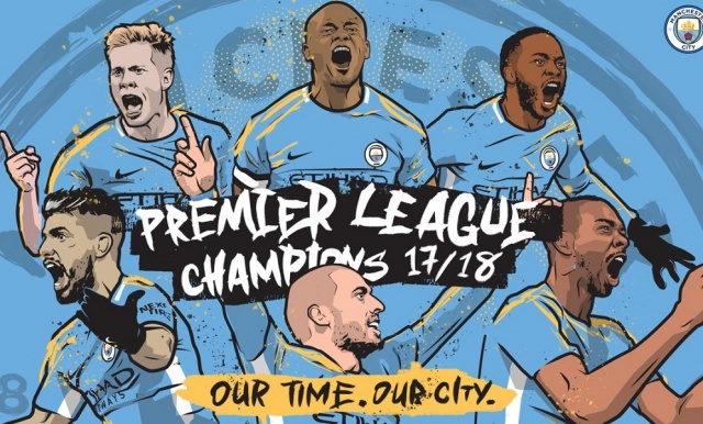 Bulgaria Manchester City are the New Premier League Champions