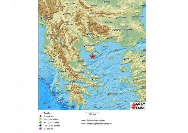 Bulgaria: Earthquake Measuring 4.9 on the Richter Scale in Greece