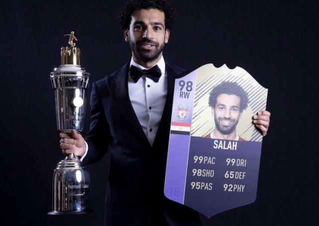 Bulgaria: Mohamed Salah: Liverpool Forward Voted PFA Player of the Year 2017-18
