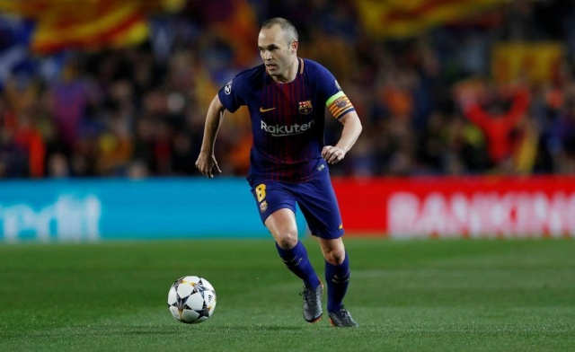 Bulgaria: Barcelona Legend Andres Iniesta Confirms he is Leaving the Club at the End of the Season