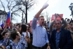 Thousands Arrested in Protest against Putin