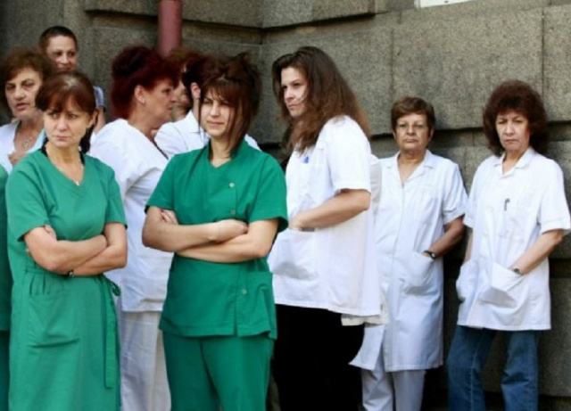 Bulgaria: Bulgarian Medical Nurses go on a National Protest