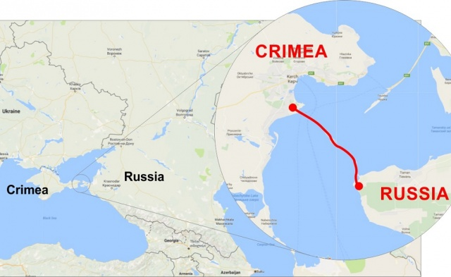 Bulgaria: Russia will soon Open Bridge linking Crimea to Russia
