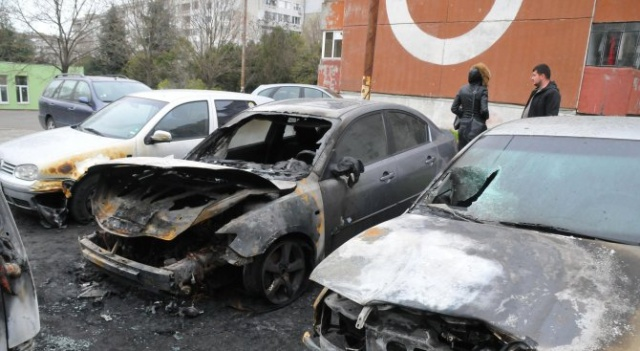 Bulgaria: An Intentional Arson of Cars in Burgas; Police Evacuated a Whole Block