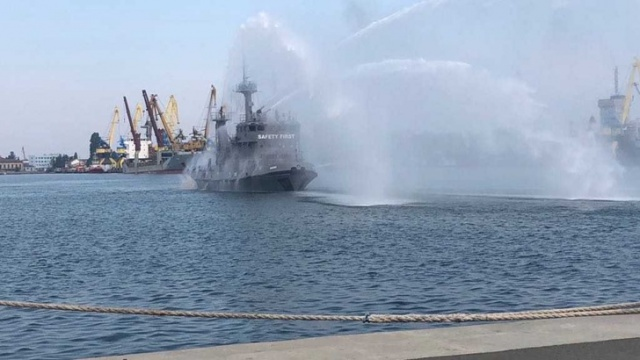 Bulgaria: Fire Rescue Operation Training was Carried out in Burgas Port