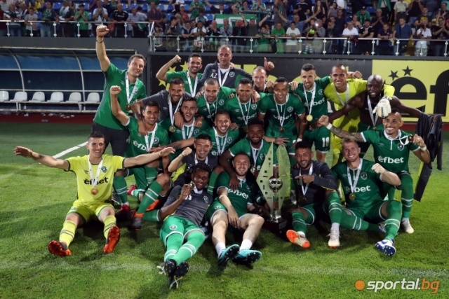 Bulgaria: Ludogorets won the Super Cup of Bulgaria