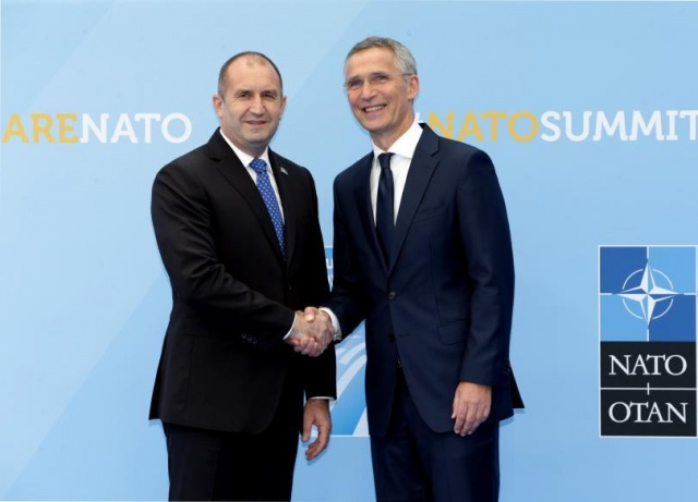Bulgaria: Bulgaria's President at the NATO Summit in Brussels