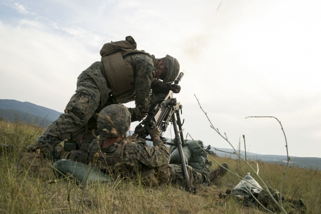 Bulgaria: Marines Are Practicing A Little-Used Tactic In Eastern Europe
