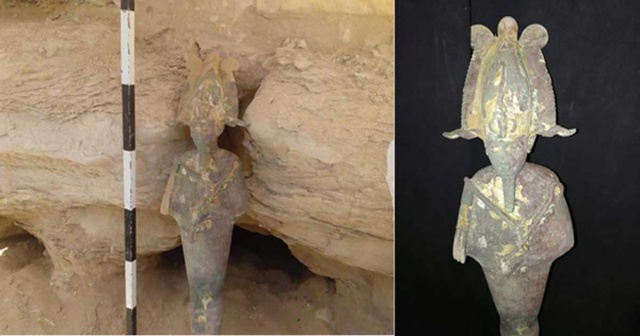 Bulgaria: Archaeologists have Discovered a Statue of God Osiris in an Ancient Egyptian Pyramid