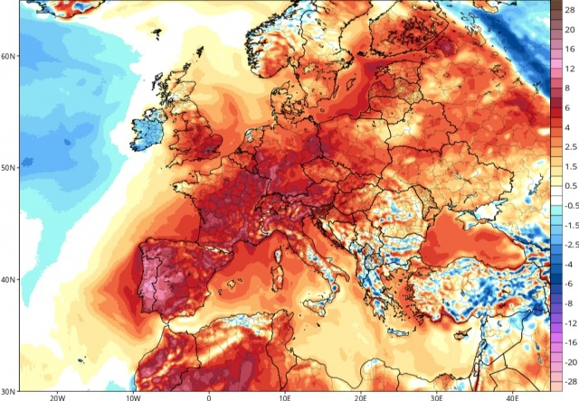 Bulgaria: Europe's All-time Heat Record Could Fall this Weekend