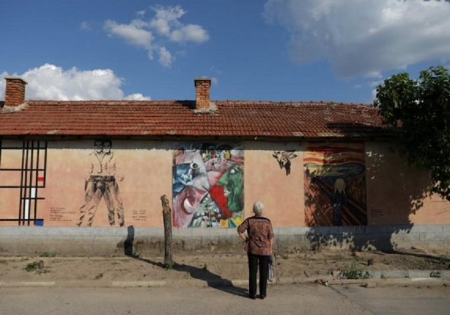 Bulgaria: New York Art Turns Bulgarian Village into Outdoor Gallery
