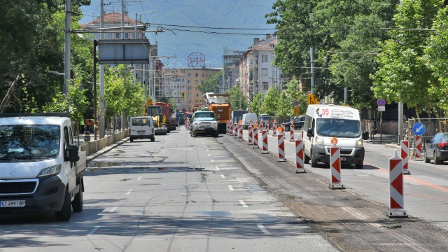 Bulgaria: The Repairs of Streets in Sofia Continue after 15 September