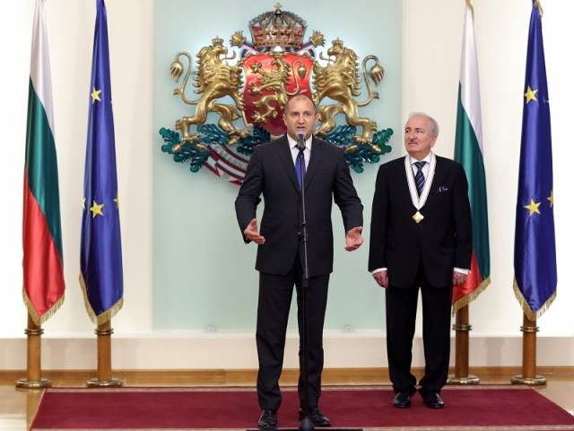 Bulgaria: President Rumen Radev Awards Madara Order to Ukrainian Ambassador Mykola Baltazhy