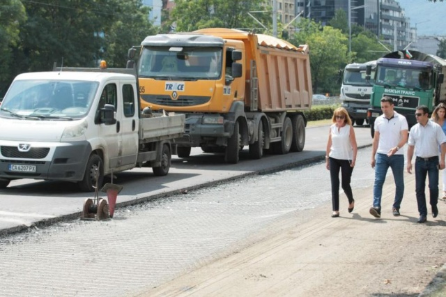 "Bulgaria: Normal Traffic on Sofia ""Bulgaria"" Boulevard will be Resumed on September 10"