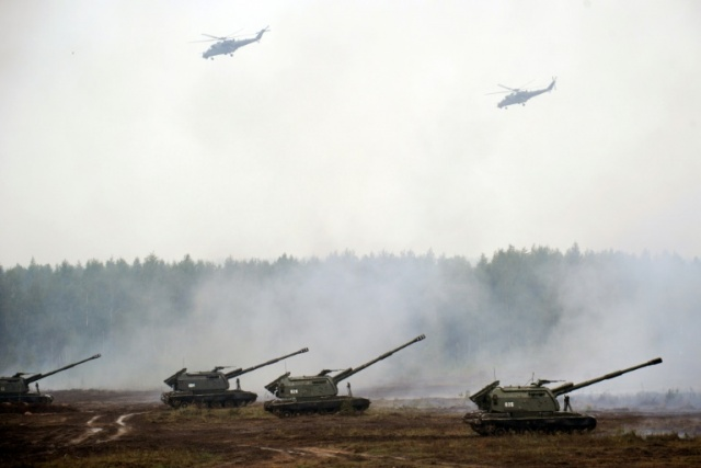 Bulgaria: Russia Launches Biggest ever War Games
