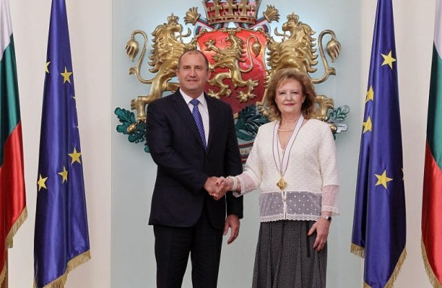 Bulgaria: President Radev Awarded Madara Horseman Order to the Croatian Ambassador