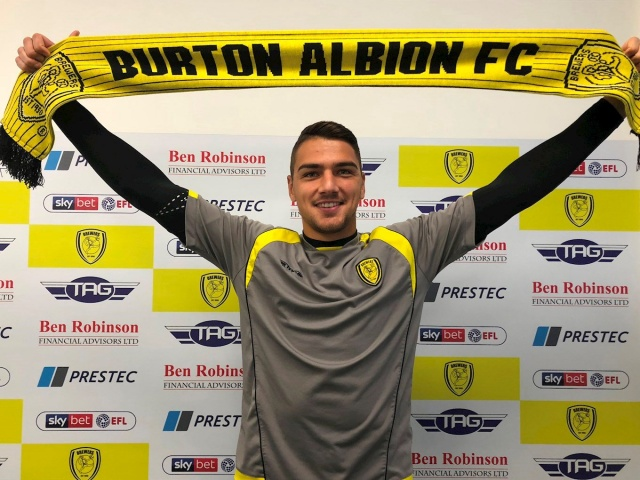 Bulgaria: English Burton Albion Sign Bulgarian Goalkeeper Evtimov on Short-term Deal