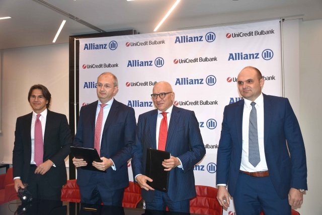 Bulgaria: UniCredit Bulbank and Allianz Sign a Partnership Agreement in Bulgaria