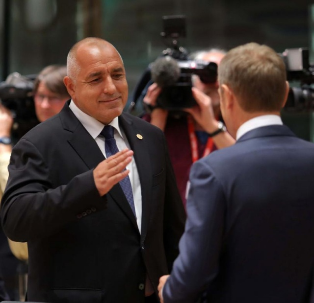 Bulgaria: PM Borisov was Congratulated on the Way Bulgaria Protects Borders at Brussels Summit