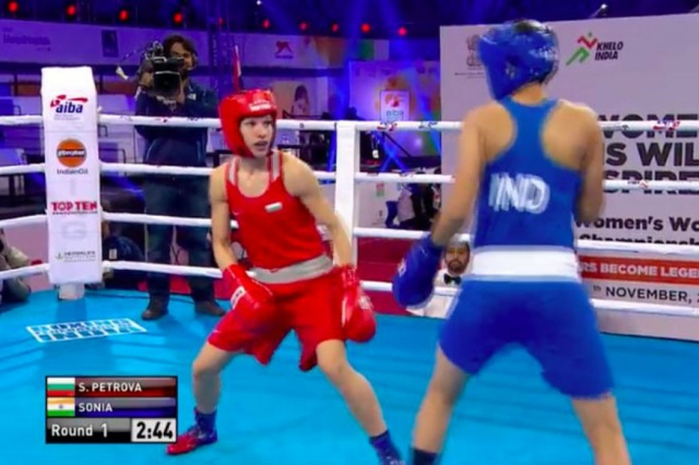 Sonia wins her 57 kg bout, enters pre-quarters