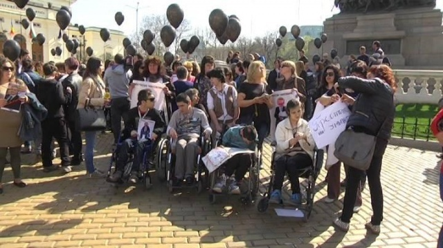 Bulgaria: Mothers of Children with Disabilities Terminate Their Protest