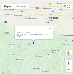 Earthquake Measuring 3 0 On Richter Registered Near Plovdiv