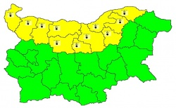 Bulgaria: Code Yellow for Cold in 11 Regions in the Country