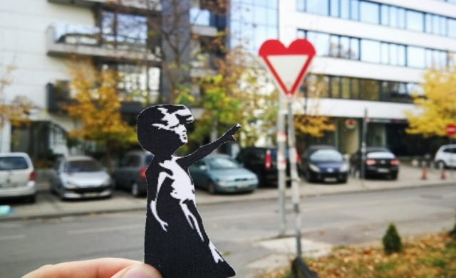 Bulgaria: Signs of Sofia: I Want to Believe that I Give a New Sip of Art in Sofia