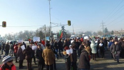 Bulgaria: Protesting Residents of Gorublyane Blocked Tsarigradsko Shose in Sofia