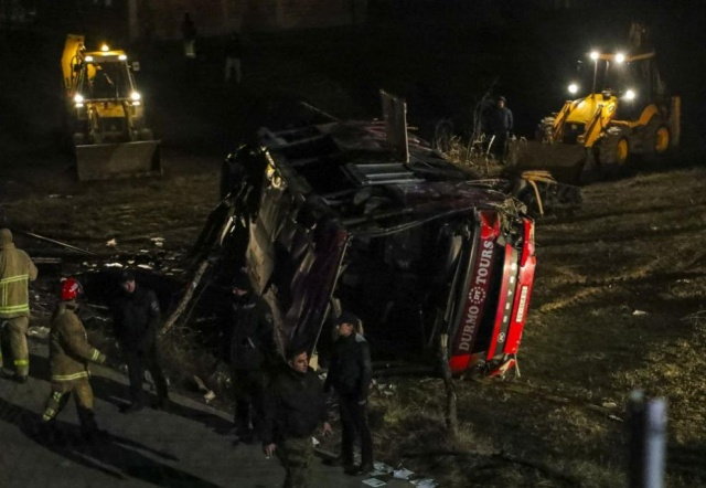 Bulgaria: 14 People Died in a Road Accident in North Macedonia