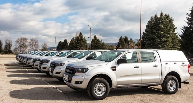 Bulgaria: The Ministry of the Interior Received 9 New Cars, Specialized as Technical Workshops