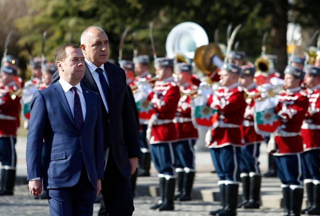 Bulgaria: Russia's Prime Minister Medvedev's Visit to Bulgaria Continues